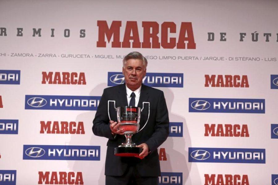 Ancelotti, Elegido Mejor Entrenador De La Liga En La 14/15