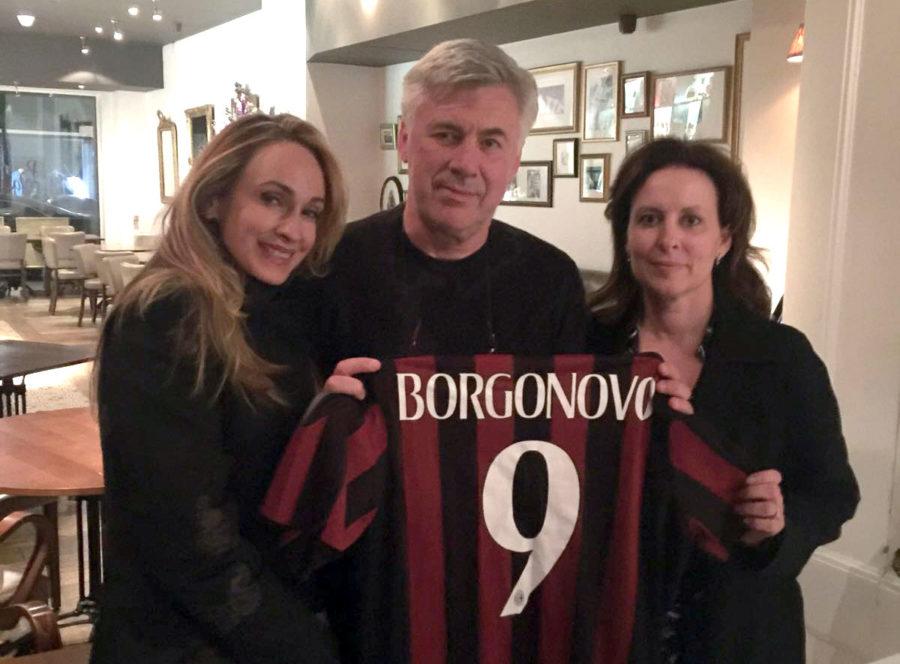 Ancelotti, Con La Fondazione Stefano Borgonovo