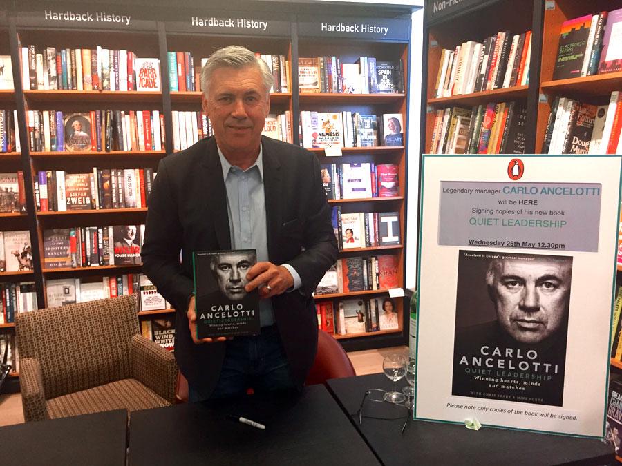 Carlo Ancelotti Presents His New Book: 'Quiet Leadership'