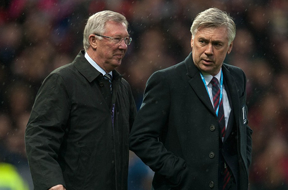 Ancelotti Pays Tribute To Paris Terror Attack Victims At Old Trafford