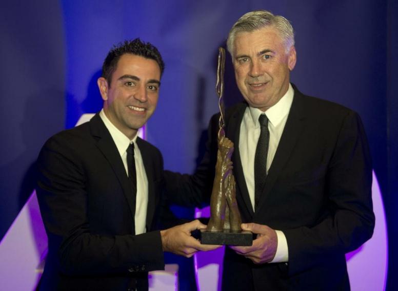 Aspire Premia A Ancelotti Con El 'Inspiring Leader'