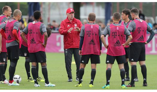 "Carlo Ancelotti Speaks About ""team Spirit"" And Not About Systems Before His Debut Against SV Lippstadt 08"