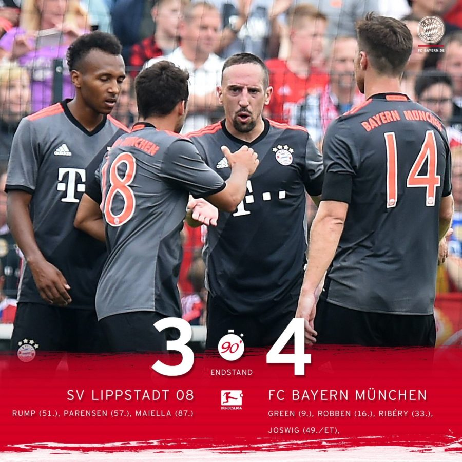 Ancelotti Starts His Bayern Reign With A Win