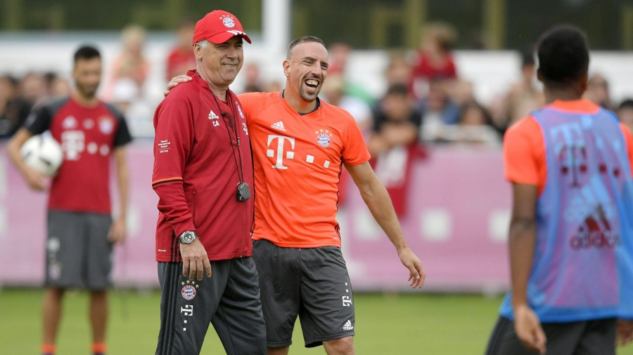 Ancelotti Debütiert In Der Bundesliga Mit Dem Gedanken Meister Mit Bayern München Zu Werden
