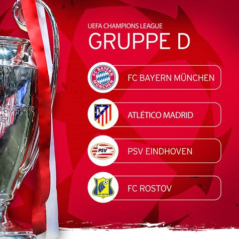 Ancelotti And Bayern Will Start The Road To Cardiff Against Atlético, PSV And Rostov