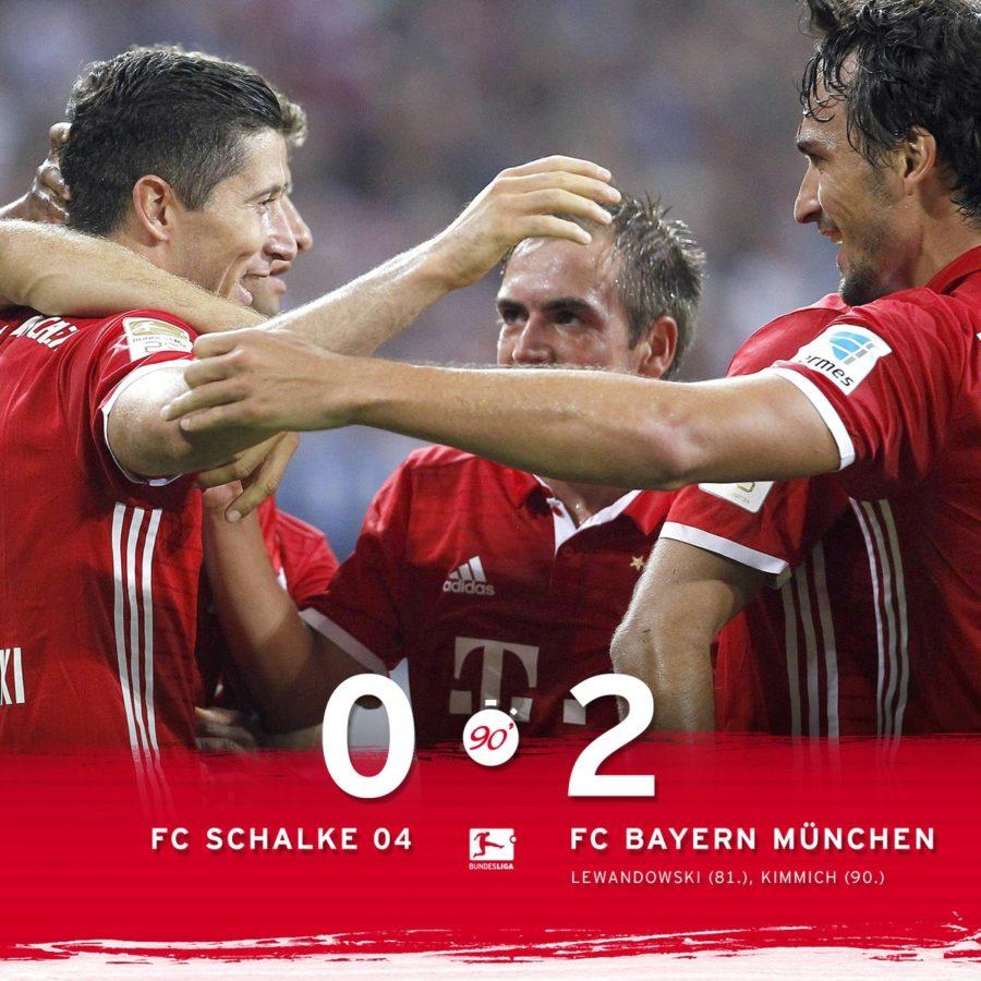 Lewandoski Y Kimmink Firman La Segunda Victoria Consecutiva Del Bayern En La Bundesliga