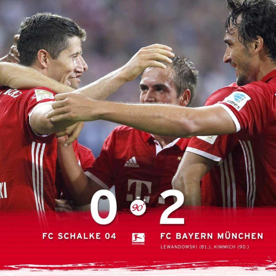 Lewandoski And Kimmink Give Bayern Its Second Consecutive Win In The Bundesliga