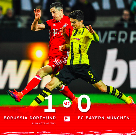 Bayern's First Bundesliga Defeat In The Classic