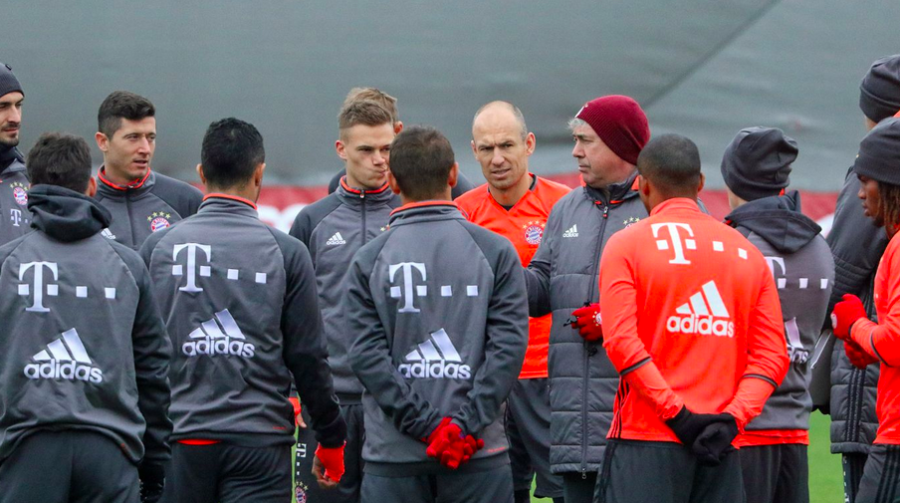 Ancelotti Is Confident His Team Will React Against Leverkusen