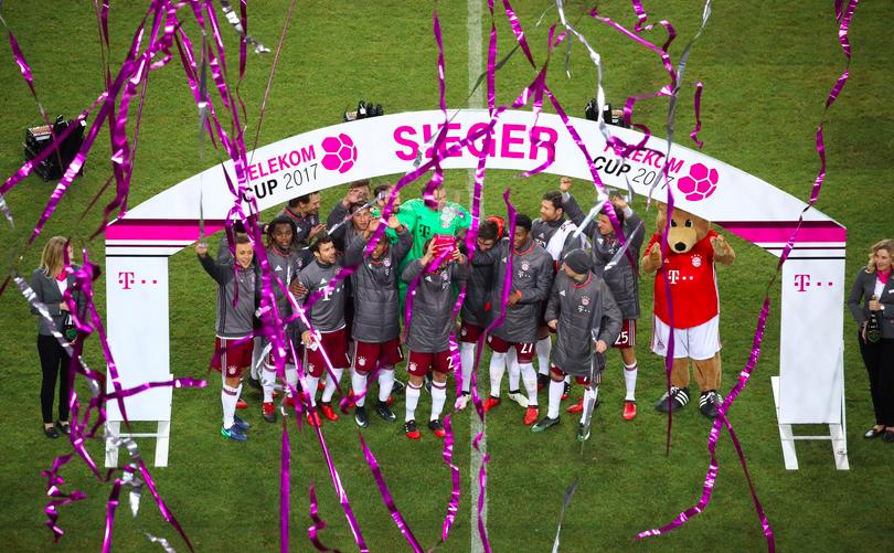 Bayern Erobert Den Telekom-Cup Und Denkt Bereits An Das Spiel Gegen Freiburg