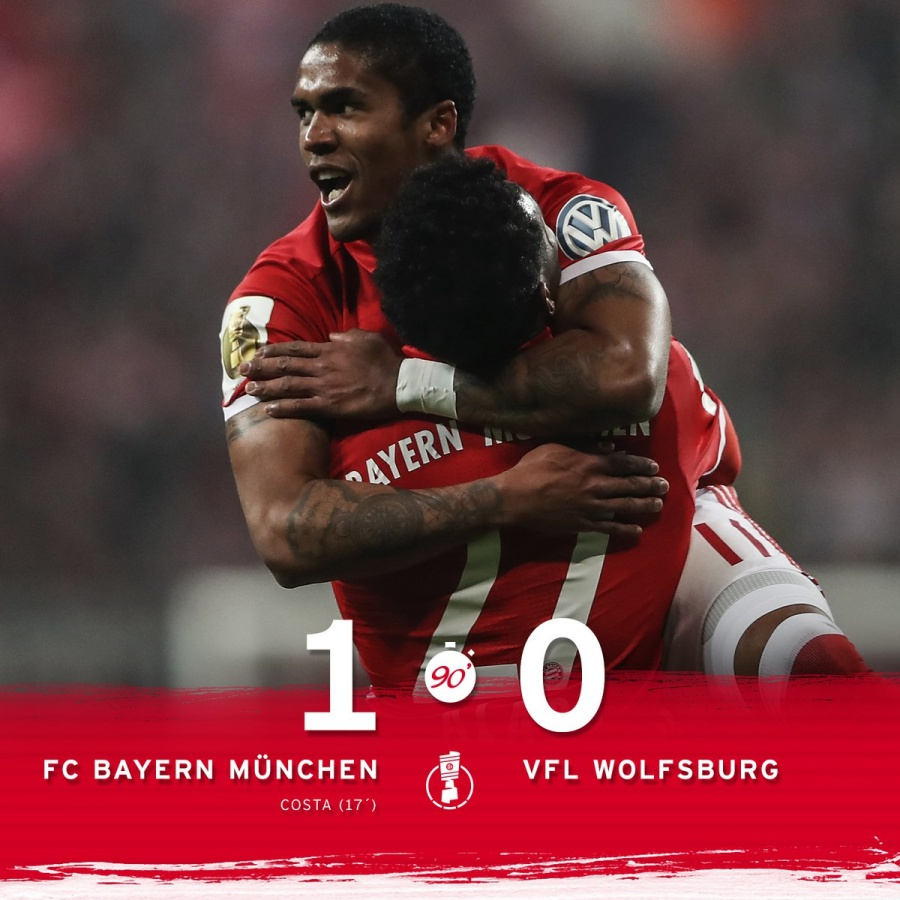 Bayern Reach The Quarter-finals Of The DFB Pokal After Beating Wolfsburgo
