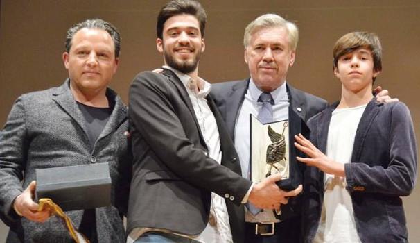 Ancelotti Receives The Corrado Viciani Award And Pays Tribute To Davide Astori