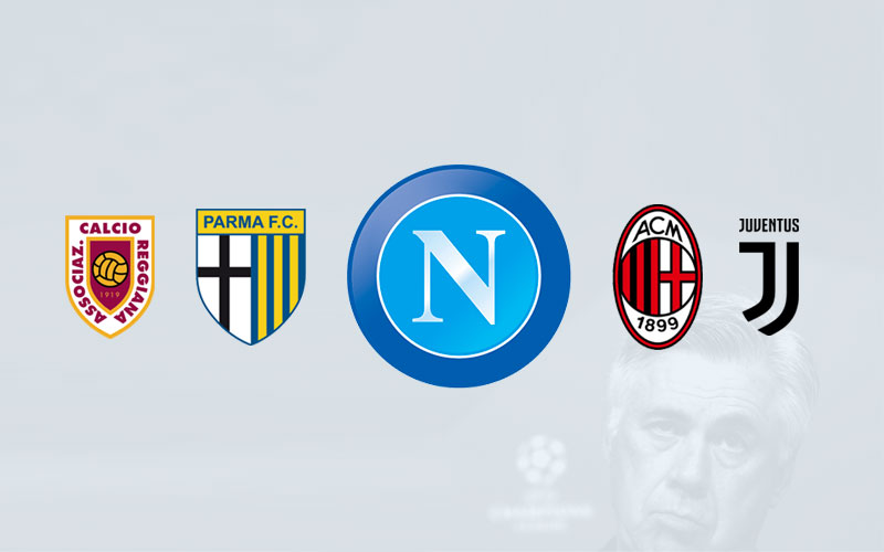 Napoli, The Fifth Club In Italy That Appoints Ancelotti  After AC Milan, Juventus, Parma And Reggiana