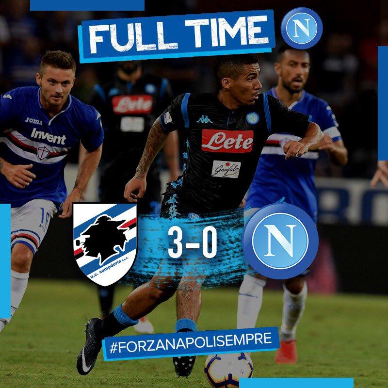 El Nápoles No Puede Con La Sampdoria