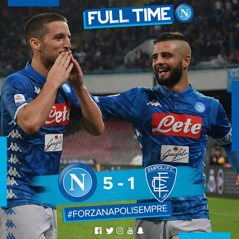 Napoli Achieved A Convincing Victory Before The Champions League Tie Against PSG