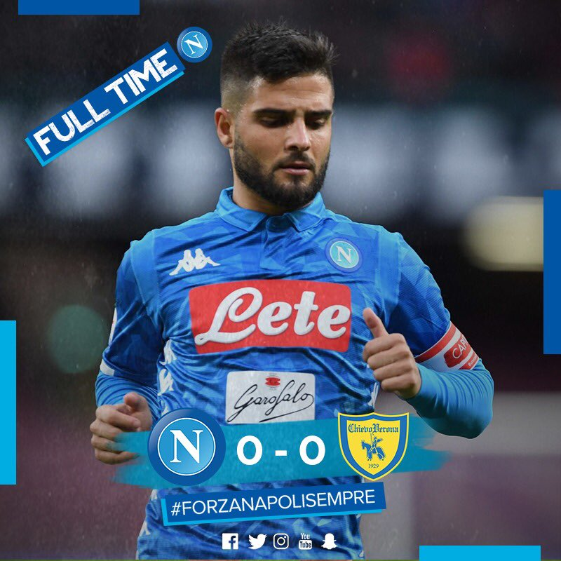 Napoli's Siege To Chievo Ends Without Reward