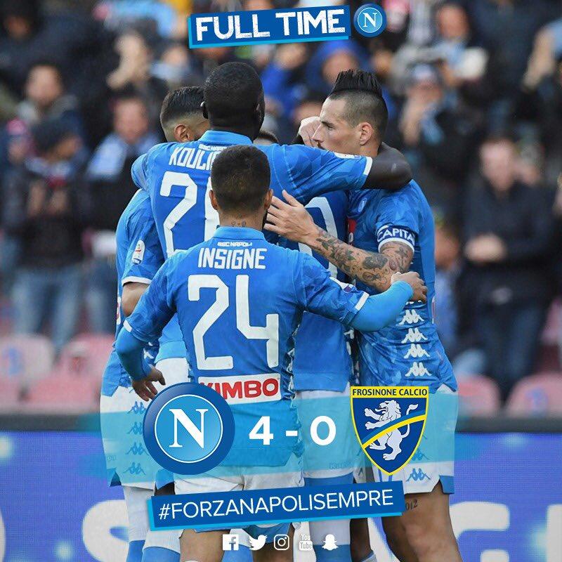 El Napoli Se Da Un Festín De Goles Antes De La Champions League