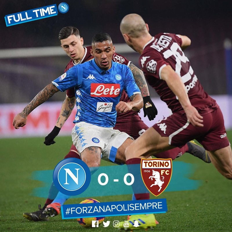Napoli Only Lacked A Goal Against Torino