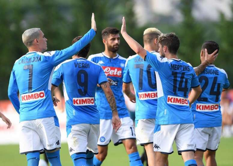 Napoli Continues Its Preparation With A Great Performance