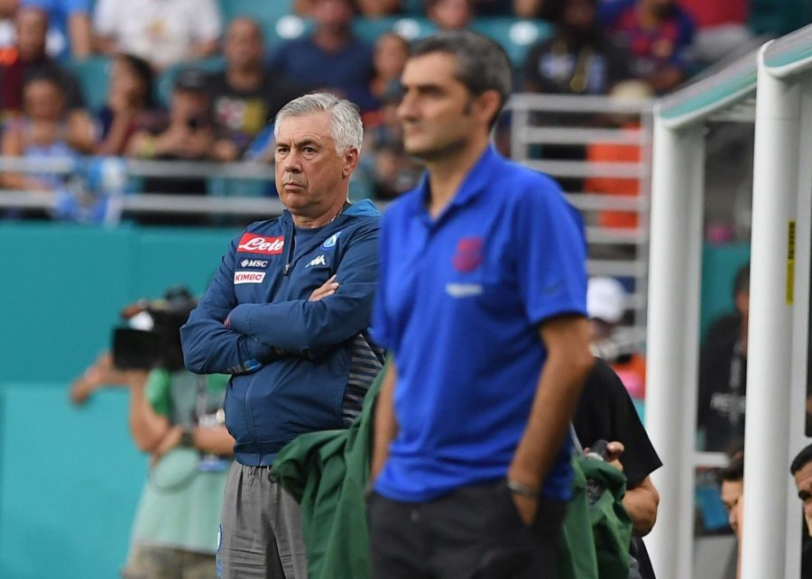 Napoli And Barcelona Offered A Great Show In Miami