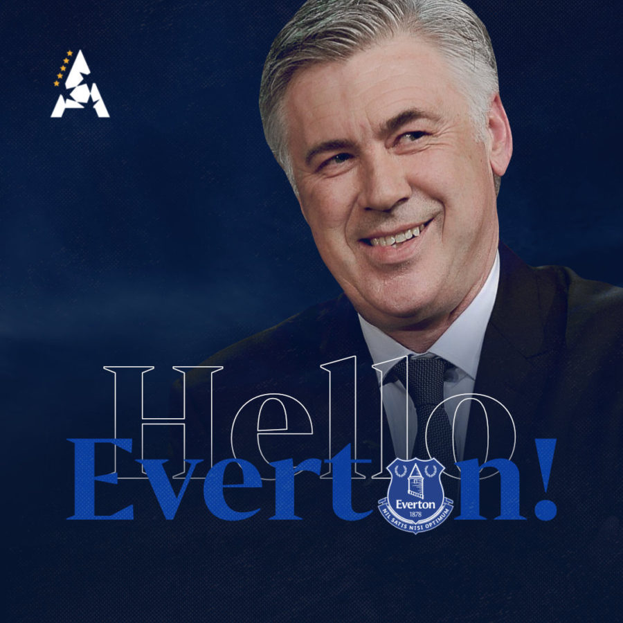 Carlo Ancelotti, New Everton Manager