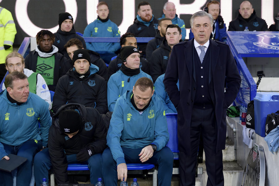 Ancelotti Celebra Il Suo Debutto Alla Guida Dell'Everton Con Una Meritata Vittoria